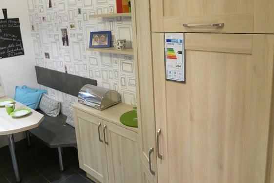 Melaminharz Akazie Hell U-Form Küche in Augsburg