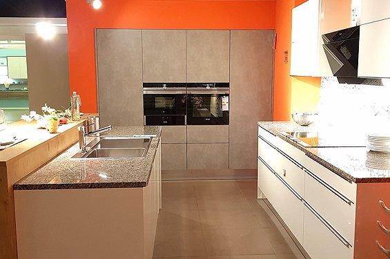 Inselküche grau weiß Heilbronn
