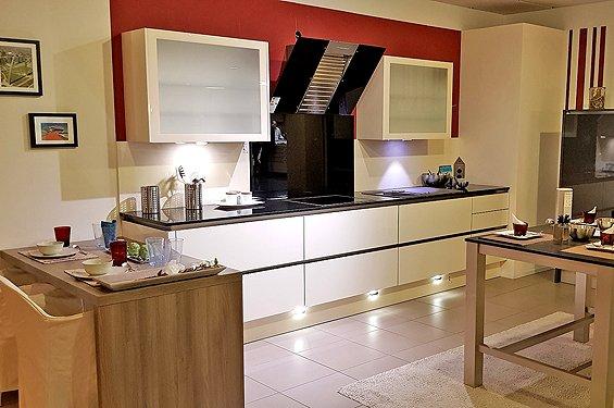 Zweizeilige Küche Magnolie Heilbronn